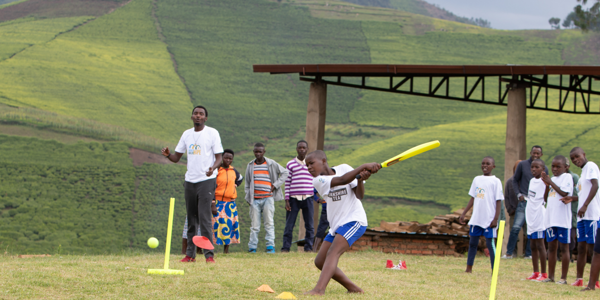 Our grassroots cricket project in Rwanda